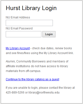 Off Campus WorldCat Login