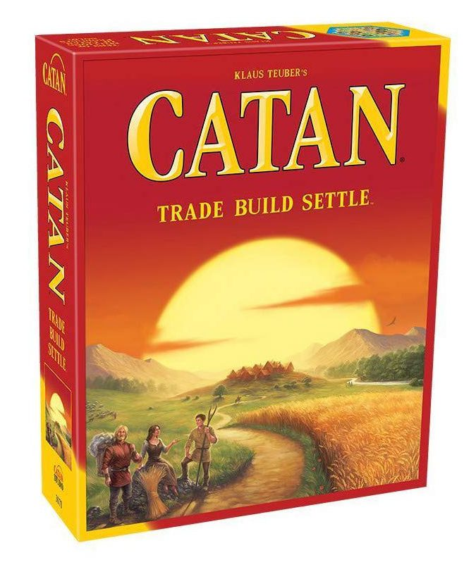 Catan: Trade, Build, Settle.